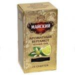 "Čaj crni ""Majskij"" s bergamotom 25 vrećica"