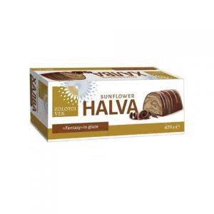 Halva s čokoladom