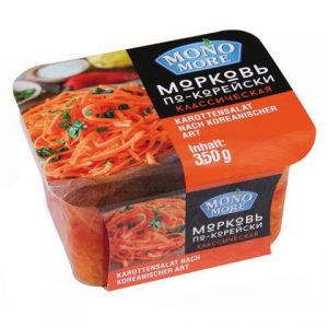 Mrkva na korejski gotova salata