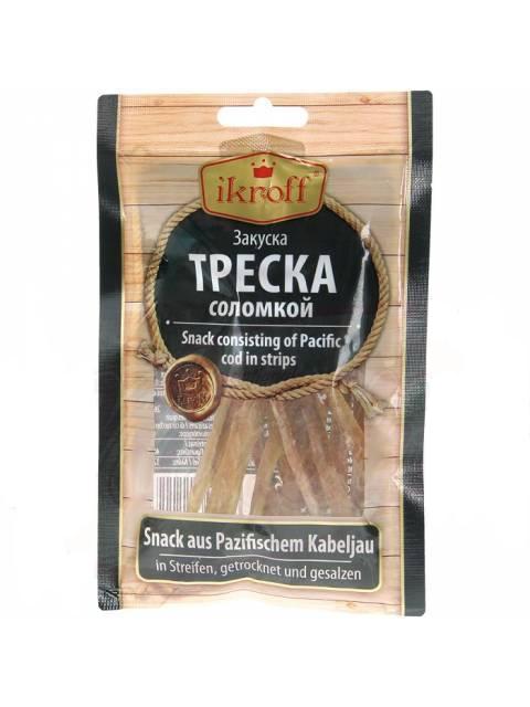 Suha slana riba Bakalara trakice grickalice