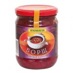 """Juha """"Boršč"""" sa svježim kupusom gotova juha, konzervirano povrće"""