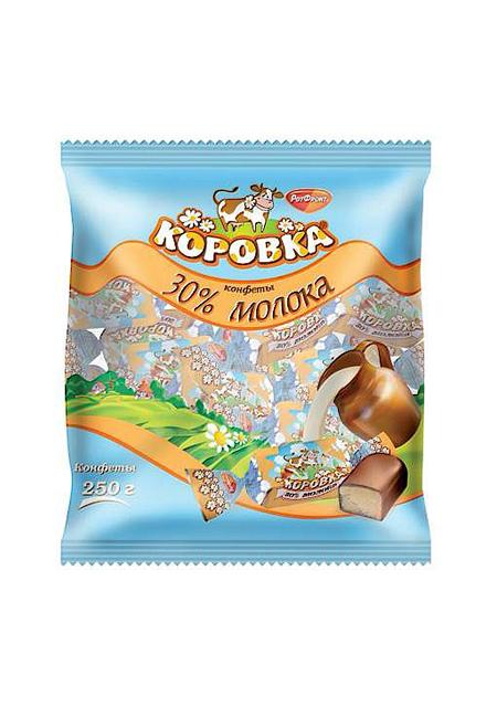 Bomboni «Korovka» mliječni 250g