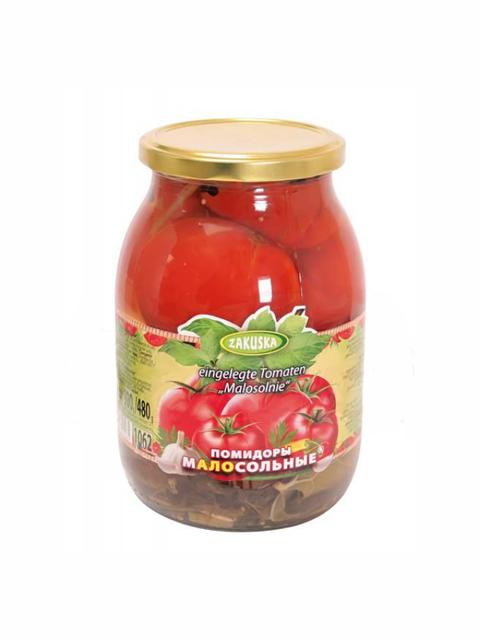 Rajčice slabo slane konzervirano povrće