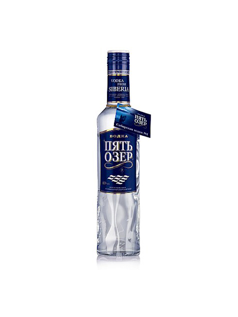 "Votka ""Pet jezera"" 0,5l"