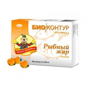 Omega 3 riblje ulje 100 kapsula