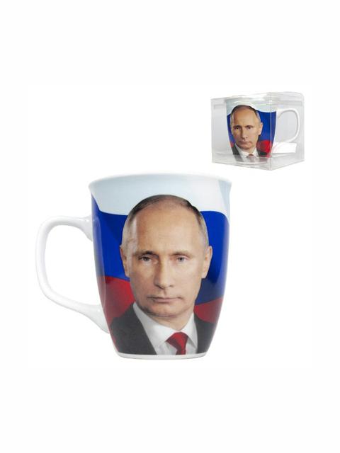 """Šalica """"Putin"""" sa zastavom"""
