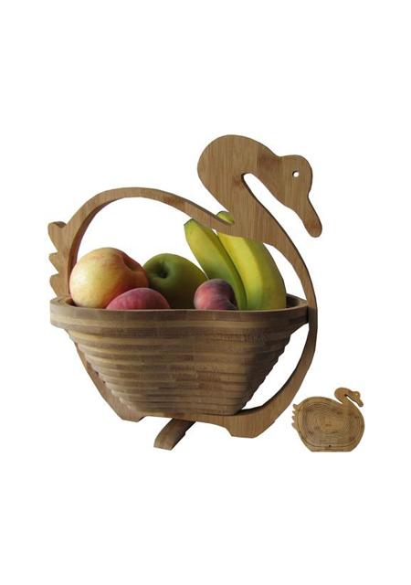 Zdjela za voće od bambusa Labud