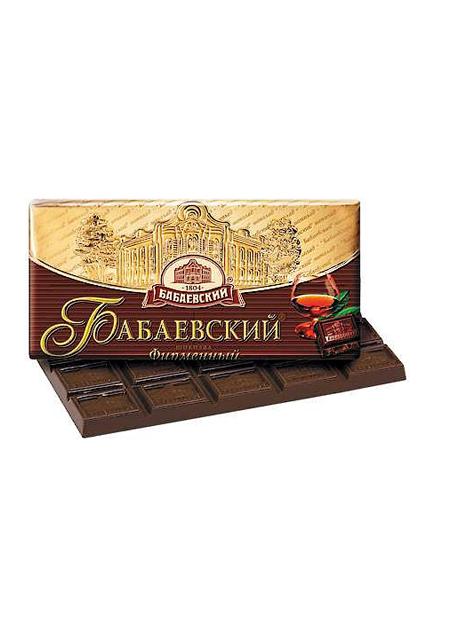 Čokolada Babaevskij brendova 100g