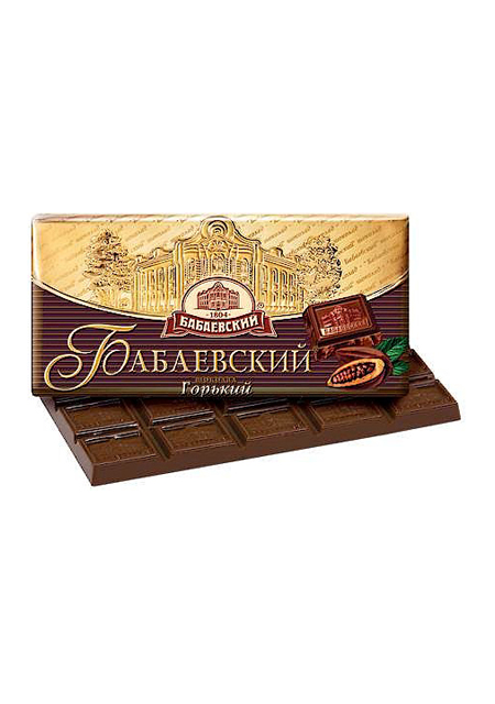 Čokolada Babaevskij tamna 100g