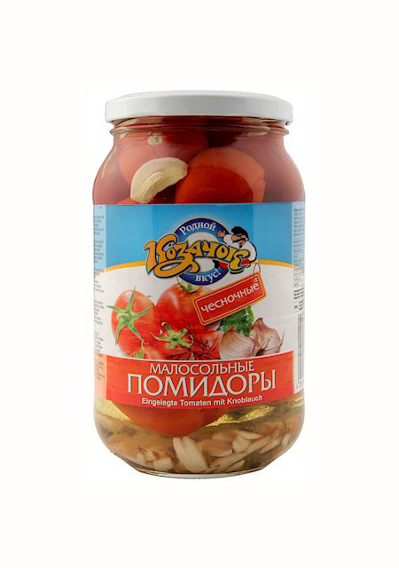 Rajčice s češnjakom Kazačok 900ml