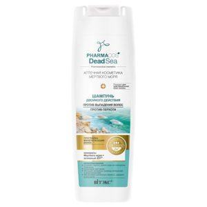 Šampon sa mineralima Mrtvog mora za ispadanje kose i protiv perhuti