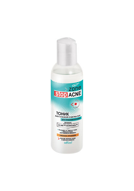 Tonik za lice za dubinsko čišćenje pora