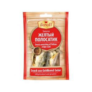 Рыба Жёлтый полосатик сушено-солёная