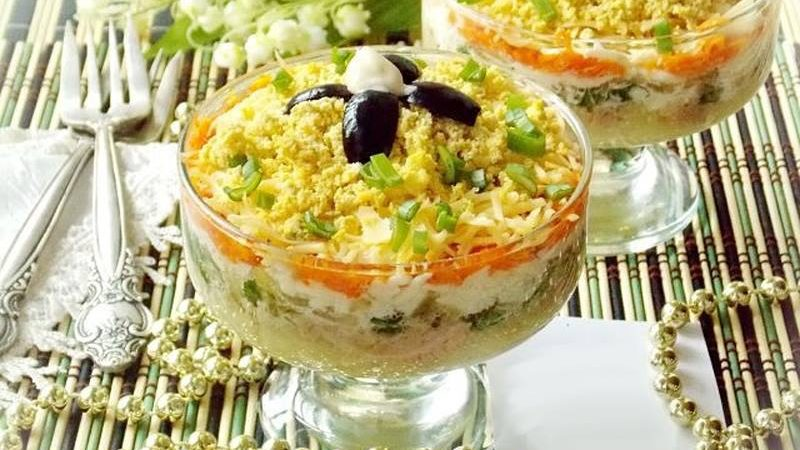 Recept salata s bakalarom