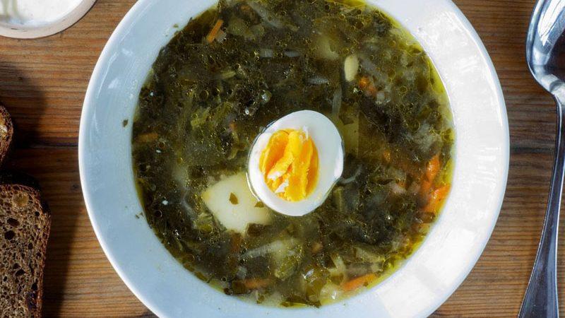 Recept juhe od kiseljaka: ruska kuhinja