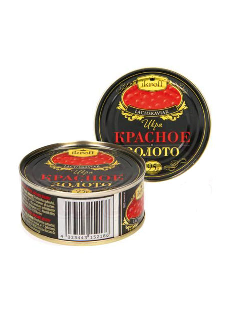 Kavijar crveni losos / gorbuša Crveno Zlato