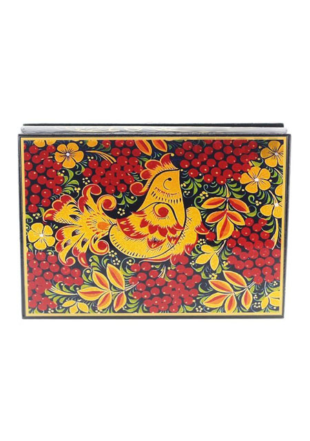 Kutija za nakit Hohloma 10x14cm drvo