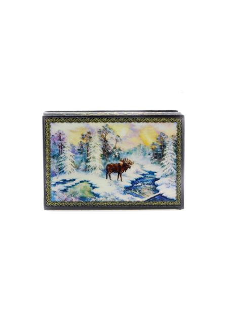 Kutija za nakit Zima 9x6cm drvo - slika 2