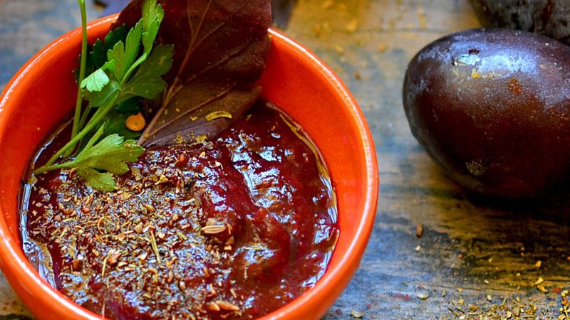 Tkemali - svjetski poznati umak za meso