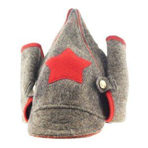 Budjonovka - topla kapa vojnika u vremena Revoluciji