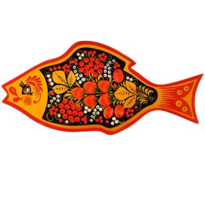 "Daska ""Riba"" ukrasna - Hohloma suvenir"