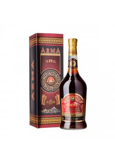 Konjak Arma Armenski star 15 godina