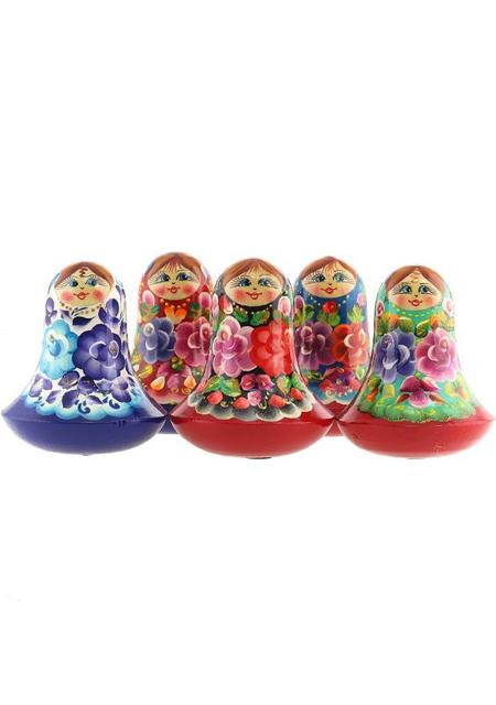 Lutka Babuška Klik-Klak s zvonom