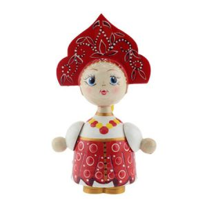 Lutka Vasilisa drvo - suvenir