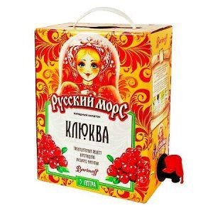 Piće od brusnice / ruski mors 3l