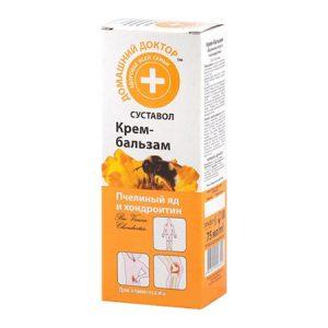 Пчелиный яд и хондроитин крем-бальзам