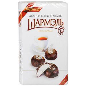 """Bombonjera """"Šarmelj"""" s zefirom u čokoladi 250g"""