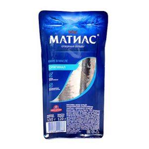 """Haringa """"Matias"""" 150g"""