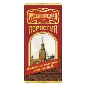 """Čokolada """"Ruska"""" mliječna sa mjehurićima"""