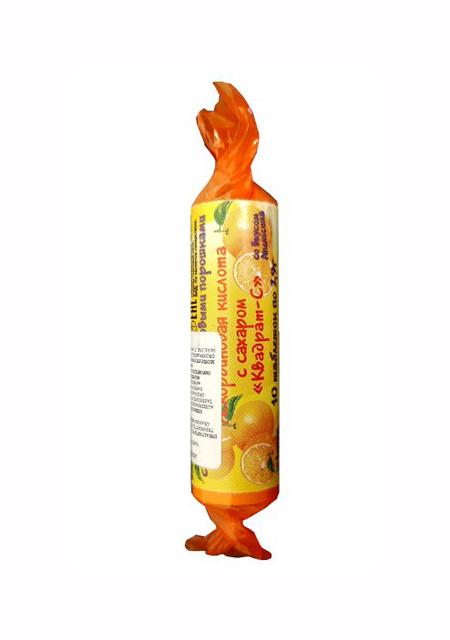 Askorbinska kiselina sa šećerom i okusom naranče