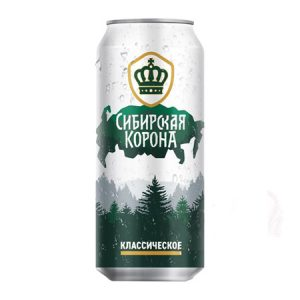 """Pivo """"Sibirska kruna"""" klasik"""