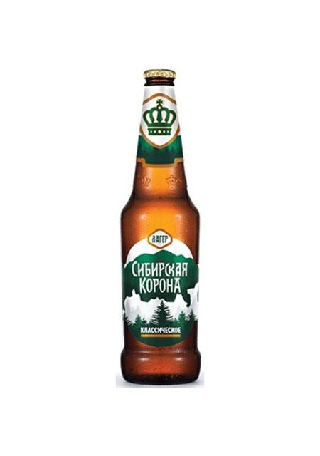 "Pivo ""Sibirska kruna"" Lager klasik"