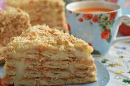 Napoleon torta: recept