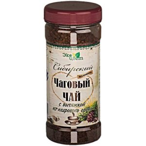 Čaj od čage sibirski s cedrom