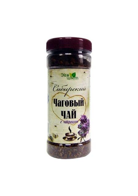 Čaj od čage sibirski s majčinom dušicom
