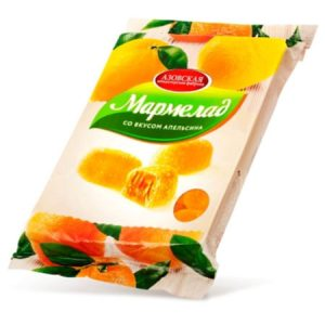 Marmelad sa okusom naranče Azovskaja