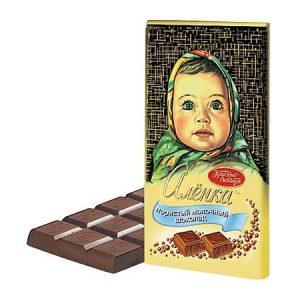 """Čokolada """"Aljonka"""" sa mjehurićima"""