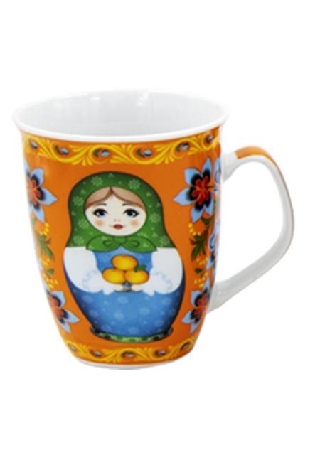 "Šalica ""Babuška"" narančasta"