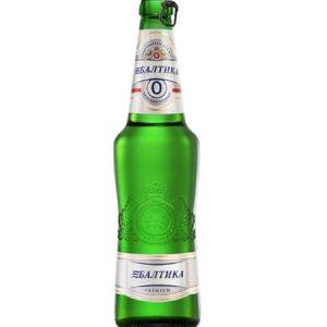 Pivo Baltika 0% bezalkoholno 0,5l