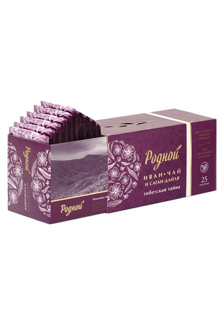 Ivan čaj s Sagan-Dajlja ili Rhododendron Adams 25 vrećica