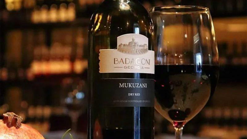 """""""Mukuzani"""" je suho crveno vino"""