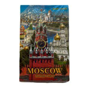 """Karte za igranje / špil karate """"Moskovski Kremlj"""""""