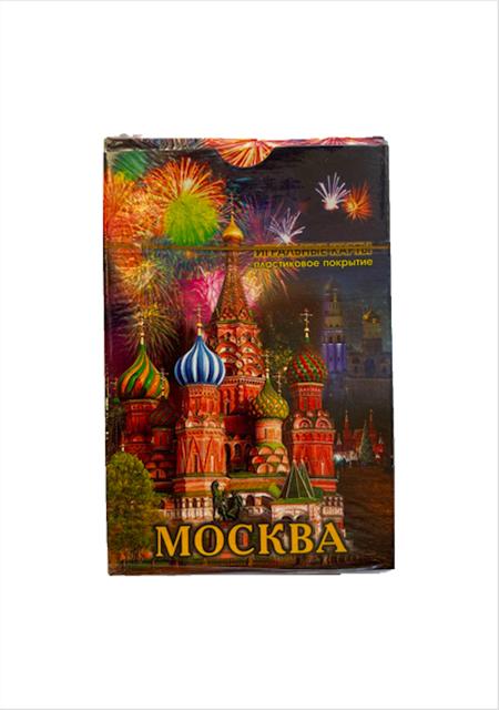 "Karte za igranje / špil karate ""Moskva vatromet"""