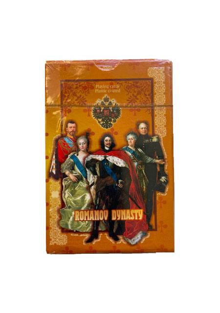 """Karte za igranje / špil karate """"Obitelj Romanov"""""""