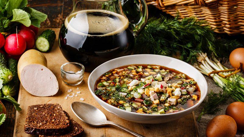 Recept: ukusna hladna juha Okroška na kvasu