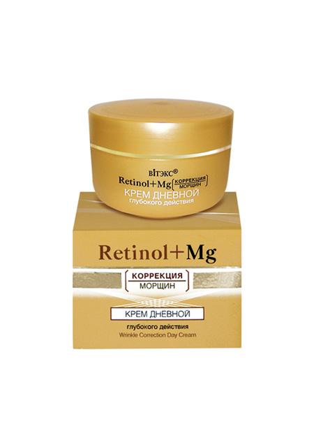"""Krema za lice dnevna """"Retinol+Mg"""" dubinskog djelovanja"""